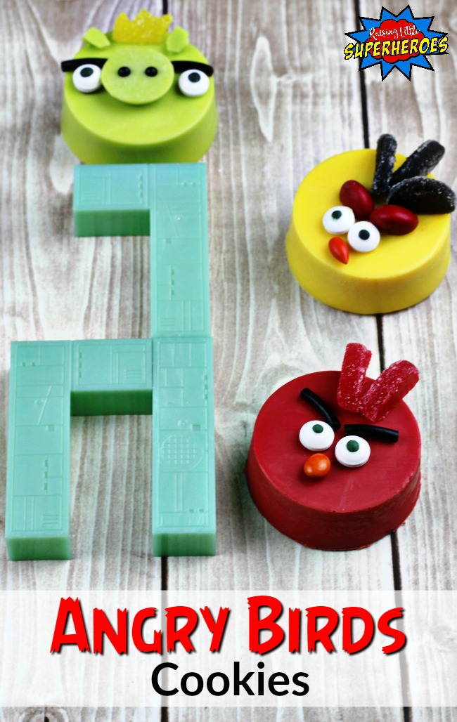 Angry Bird Cookies, Angry Birds, Cookie Recipe, Dessert Recipe
