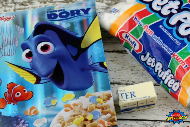 Finding Dory Marshmallow Treats 1