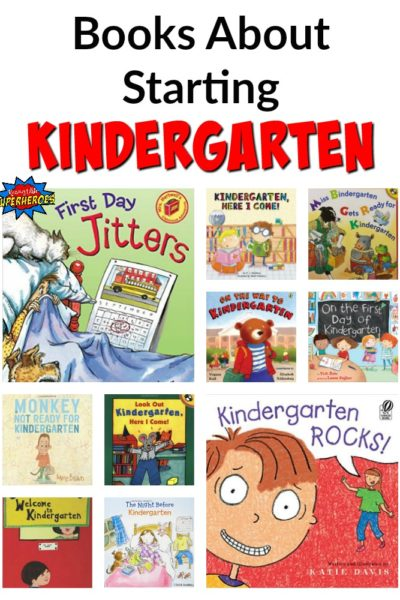 10 Picture Books About Starting Kindergarten