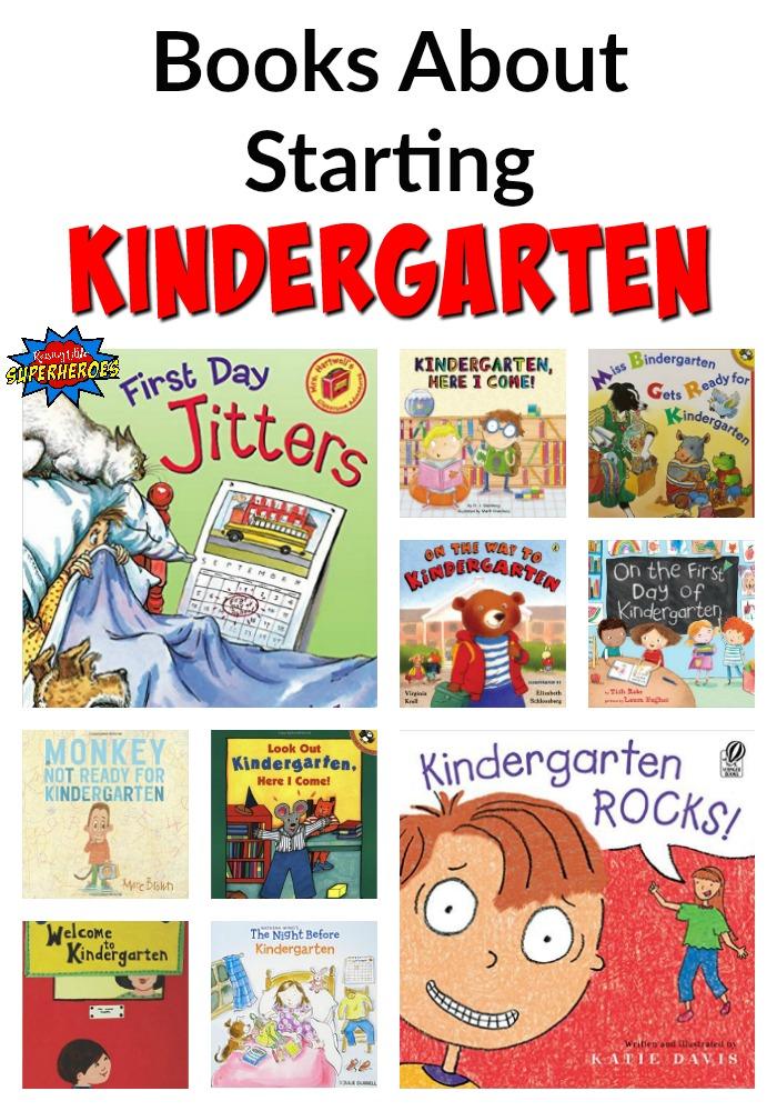 Books About Starting Kindergarten, Kindergarten Books, Books for Kindergartners, Books About Starting School