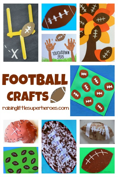 Over 10 Fun Football Crafts For Kids to Tackle