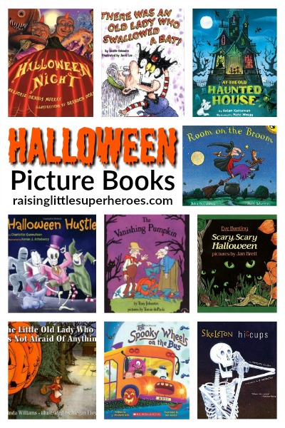 10 Not-So-Spooky Halloween Picture Books For Kids