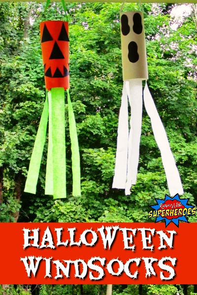 Halloween Windsocks, Pumpkin and Ghost Windsocks, Pumpkin and Ghost Halloween Windsocks, Pumpkin Windsock, Ghost Windsock, Halloween Crafts for Kids, Pumpkin Crafts for Kids, Ghost Crafts for Kids