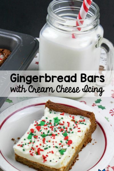 How To Make Gingerbread Bars With Homemade Cream Cheese Icing (+$330 Giveaway!)