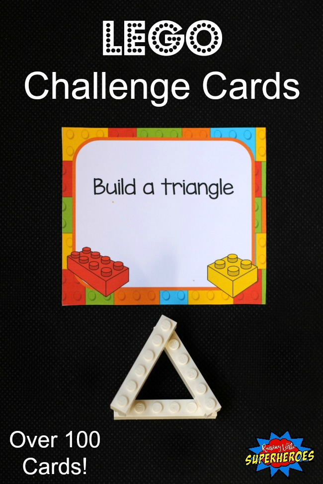 LEGO Challenge Cards, LEGO Activities, LEGO Task Cards