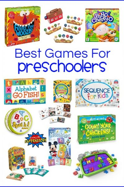 30 of the Best Games for Preschoolers