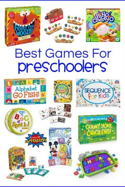 30 of the Best Games for Preschoolers