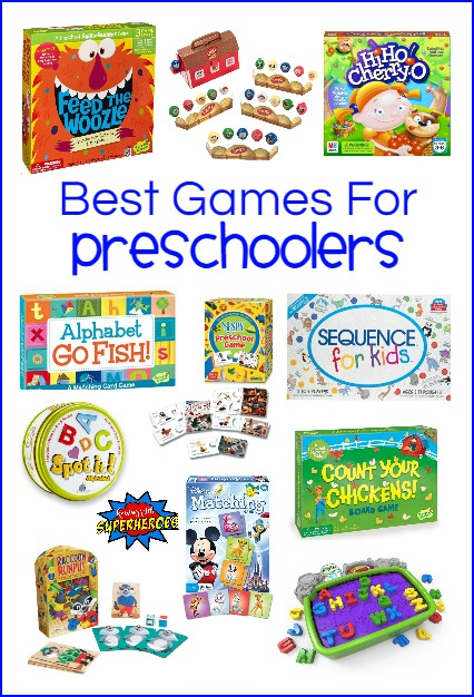 Best Games for Preschoolers, Preschool Games, Games for Kids, Family Game Night, Kid Games, Board Games