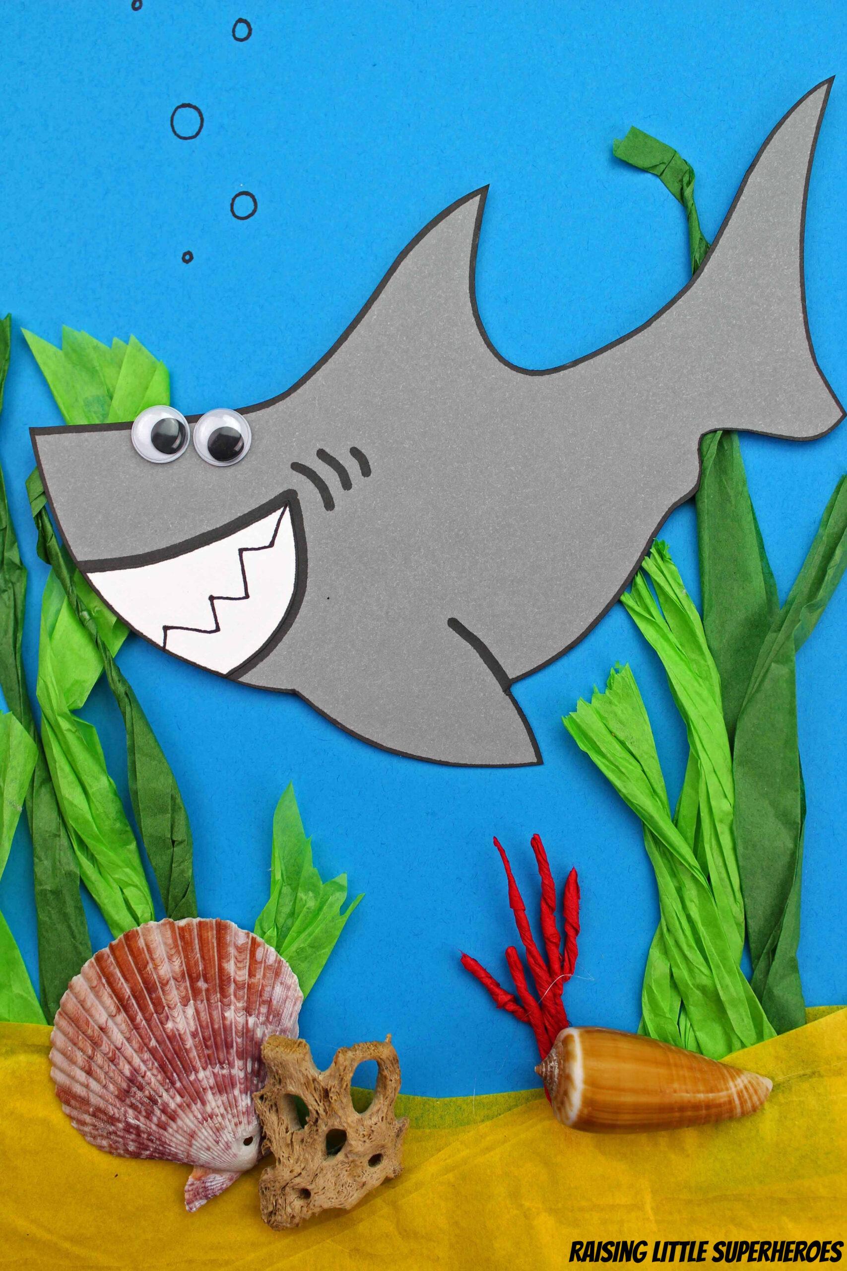 Shark Week Craft