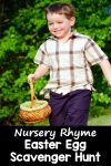 Nursery Rhyme Easter Egg Scavenger Hunt for Kids